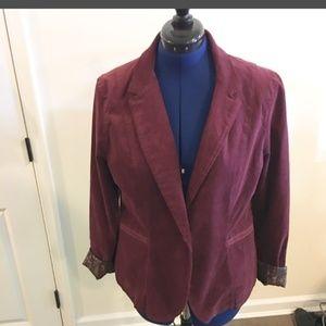 Calvin Klein corduroy blazer, new with out tags XL